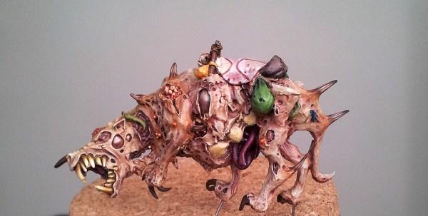 Forgeworld Nurgle Rot Beast WIP