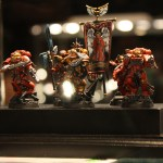 Golden Demon UK 2012 Warhammer 40k Squad Gold