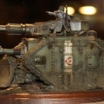 Golden Demon UK 2012 Warhammer 40k Vehicle Gold