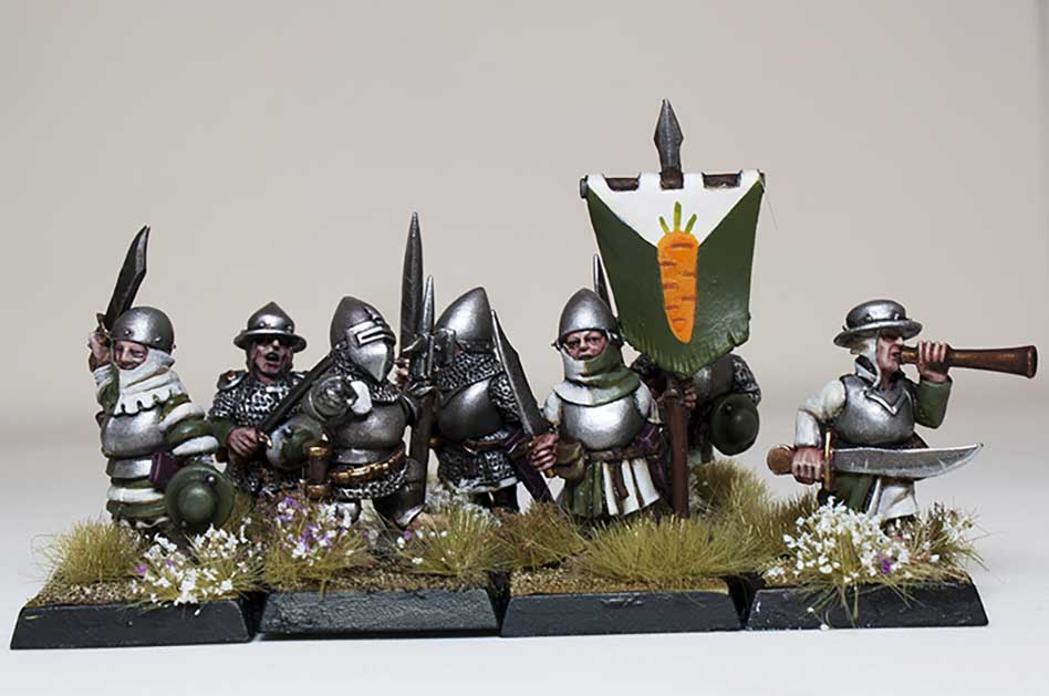 Showcase: Westfalia Fantasy Halflings