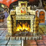 Heroquest Fireplace