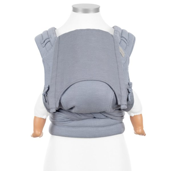 FIDELLA FLY TAI – MEI TAI BABY CARRIER – LINES – LIGHT BLUE – BABY
