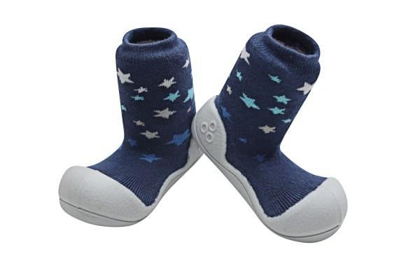 Meia/Sapato ATTIPAS com tecido duplo - Twinkle Azul - Tartaruguita