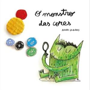 O monstro das cores (livro em cartão) - Anna Llenas Tartaruguita