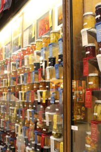 Just a section of the wall of ribbon winners.