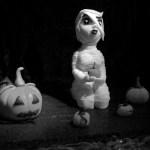 Mummy Halloween Modelling