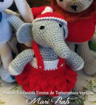 Patrón Elefantita Emma de Tarturumies versión Mari Prats
