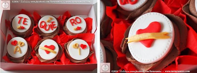 Cupcakes San Valentín Tarturumies
