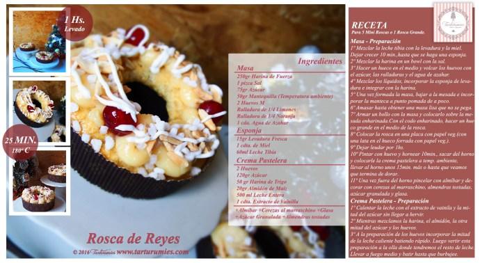 Receta Rosca de Reyes Tarturumies