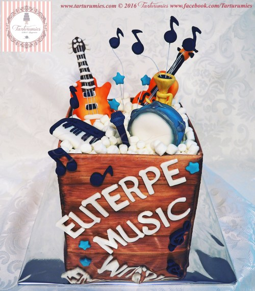 Cake Box of Musical Instrument