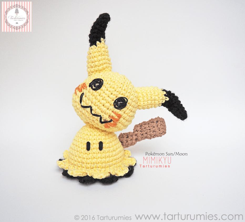 Patron au crochet Pikachu | Sabrina's Crochet | 847x932