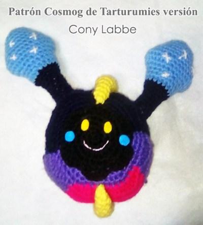 Patrón Cosmog de Tarturumies versión Cony Labbe