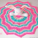Baby Blanket Anahí Bunny