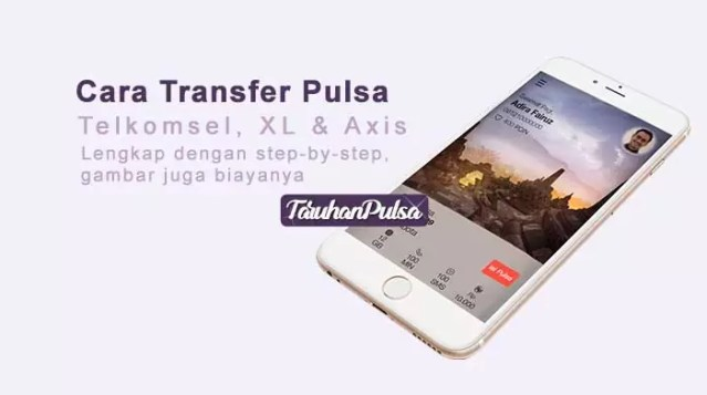 cara transfer pulsa telkom, xl dan axis