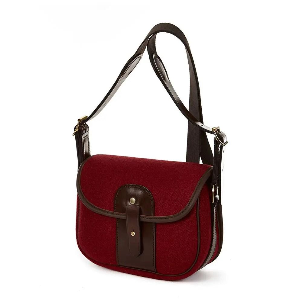 8R MOR Moorland Bag Red Tweed