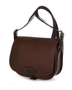 Die Glen Leather Cartridge Tasche von vorne