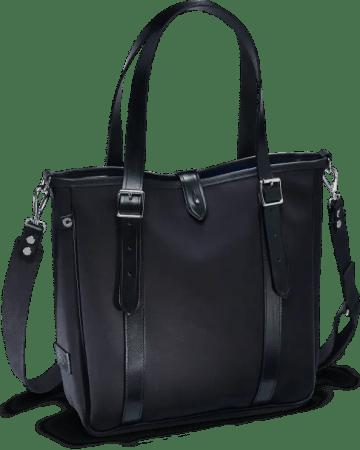 Die ganz in edlem schwarz gehaltene Umhängetasche von Croots - Dalby Tote Bag Shopper black