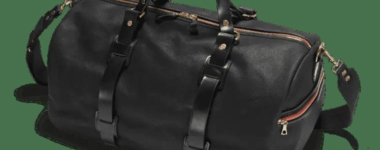 Duffle Bag als Reisetasche in Schwarz