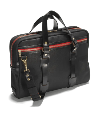 Croots Vintage Laptop Tasche Range, black
