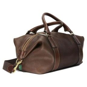 Captain´s Holdall in Chestnut braunem Leder
