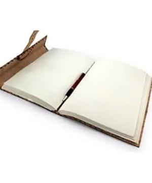 Notizbuch aus Leder DIN A4