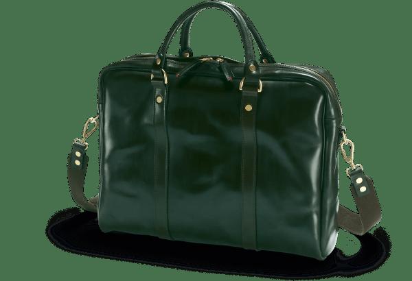 Die Malton Laptop Tasche in aufregendem Racing Green