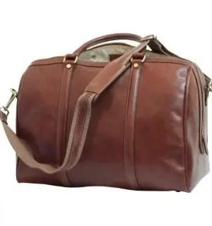 Duffel Bag Old Angler mit Gurt