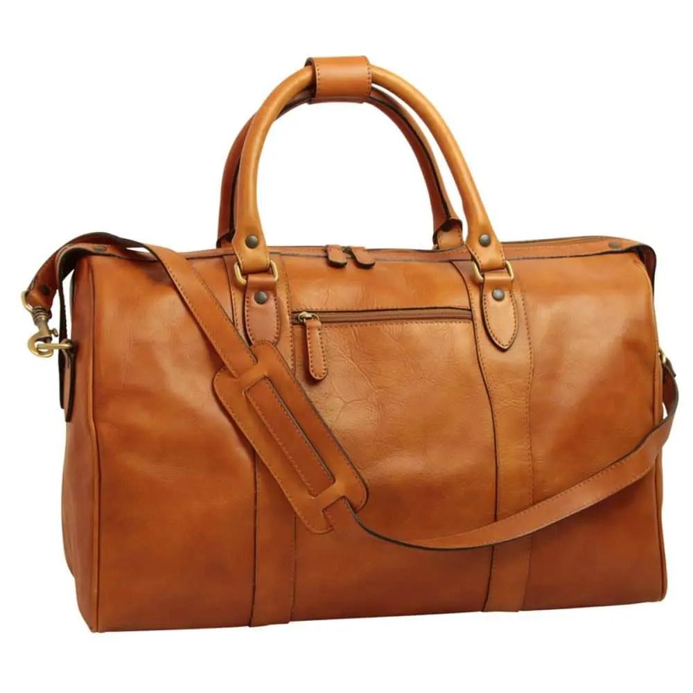 Reisetasche mit Schultergurt kolonial