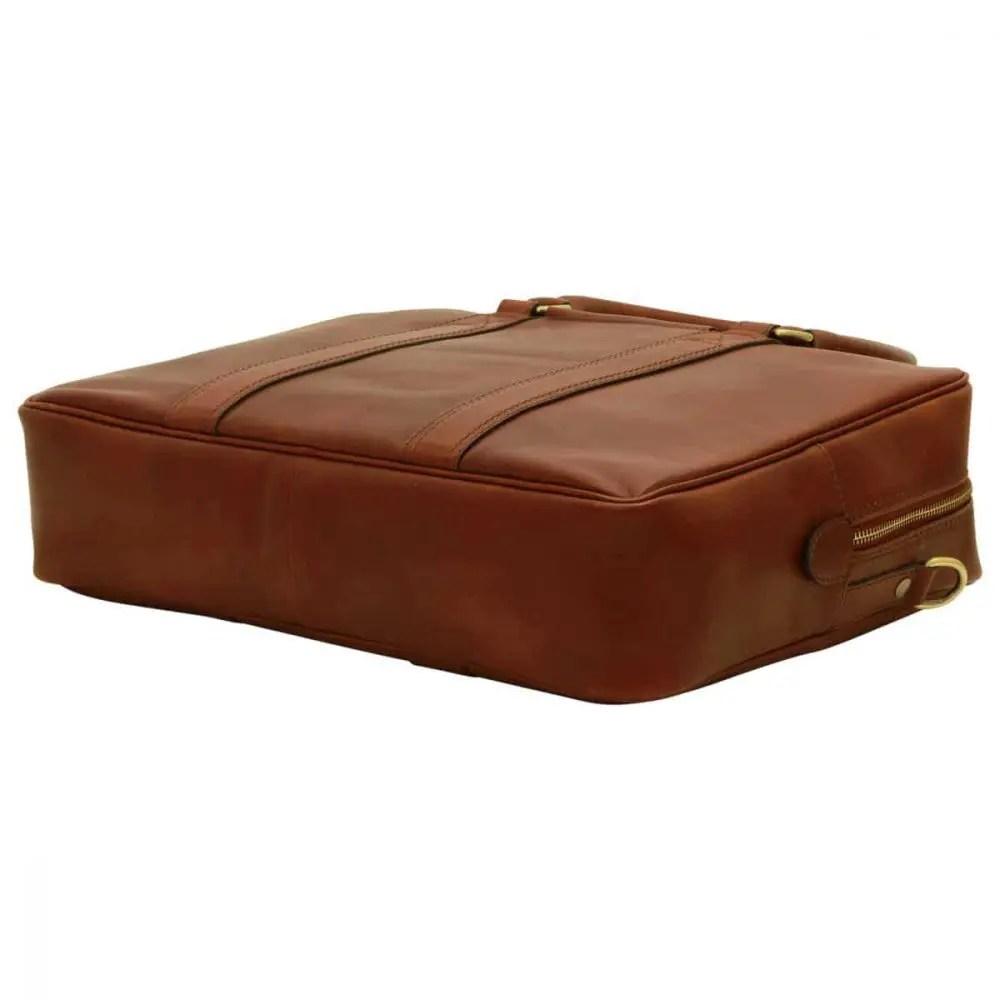 Liegende Laptoptasche 13 Zoll Braun
