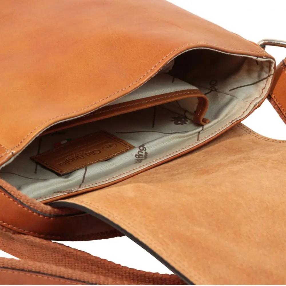 Nah IPad Tasche aus Leder Kolonial
