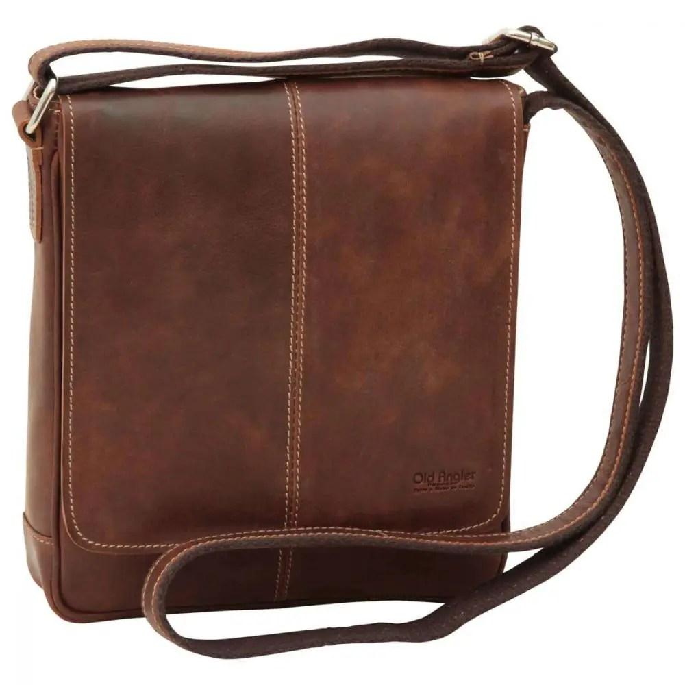 Front Satchel Bag Kastanie