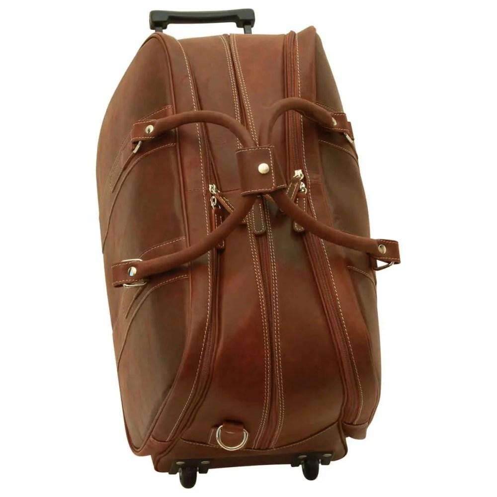 Seitenansicht Reisetasche New World Collection Chestnut