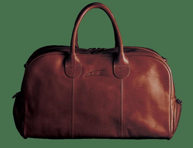 Duffle Bag Golf Sport Braun Front