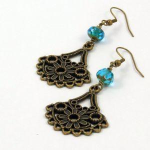 Flower Charm Earrings