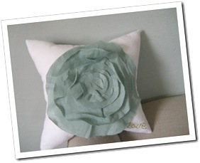 French Rose Cushion
