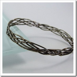 Sterling Silver Turks Head Bangle_03