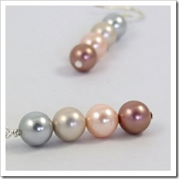 Coloured Pearl Dangle Earrings_04