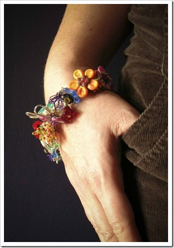 Wrist Candy Bracelet on Wrist