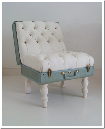 Blue-suitcase-chair-white-linen-floral-deep-buttoned-full-1-483x600