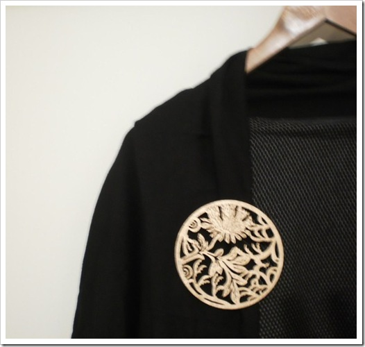Orient Brooch