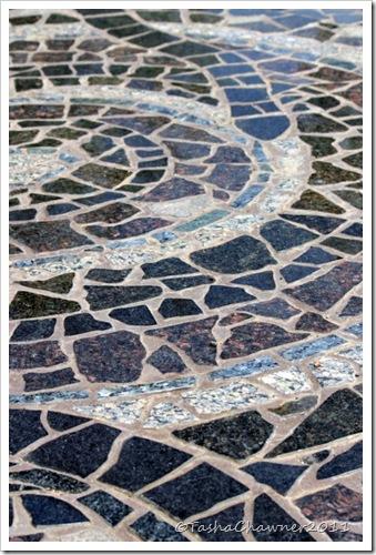Day 87 - Walcha Footpath Mosaic