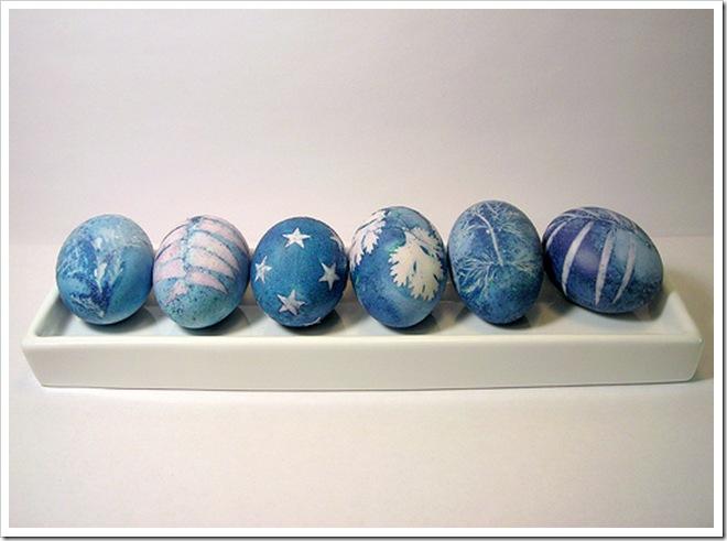 Purple Cabbage Dye Easter Eggs