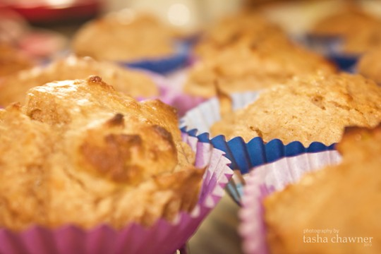 School baking has begun - trying out the Lemon Yoghurt  Honey Muffins from The Witches Kitchen (a hit with the kids btw!)