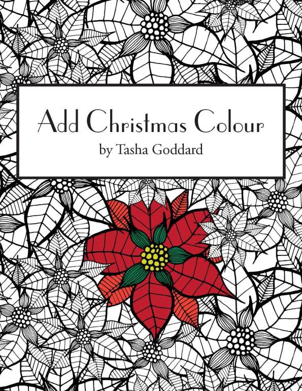 Add Christmas Colour by Tasha Goddard | printable colouring page for the festive season