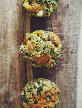Feta & Spinach Muffins