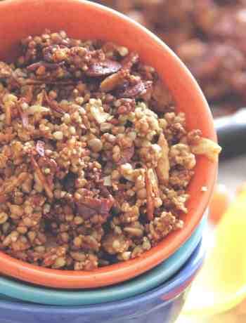 Glutenfree Buckwheat Granola