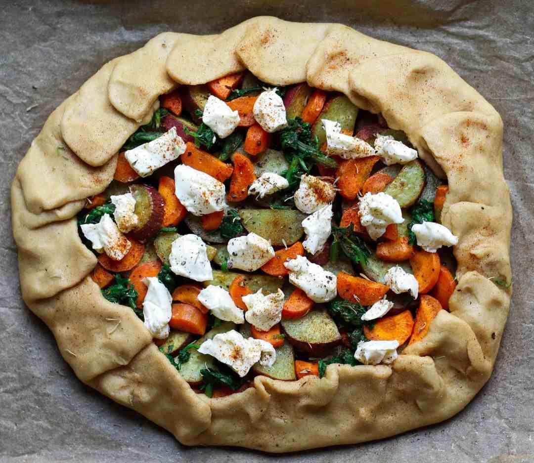 Carrot Galette