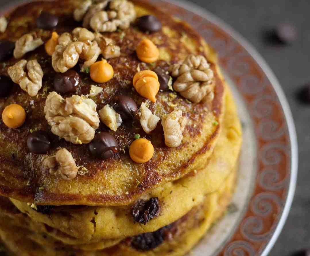 Pumpkin Orange Pancakes
