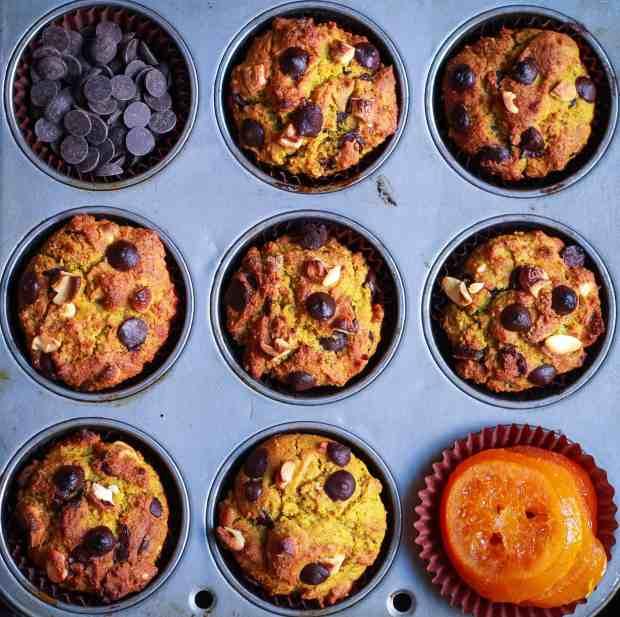 Quinoa Orange Muffins vegan refined sugarfree healthy treats