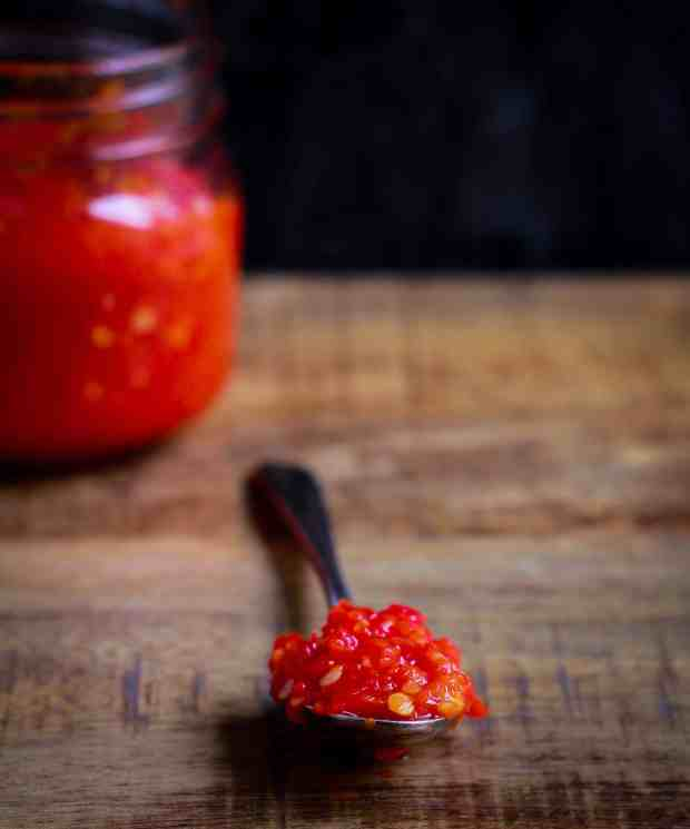 Sambal Oelek chilli sauce vegan glutenfree healthy